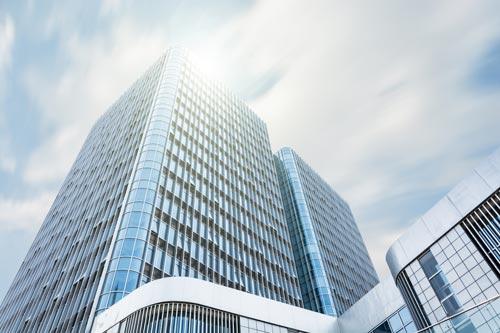 Edificio de grandes empresas