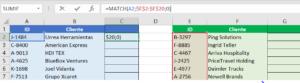 Listas de Excel