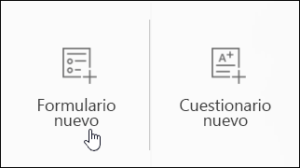 crear un formulario