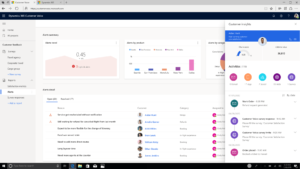 customer voice dashboard