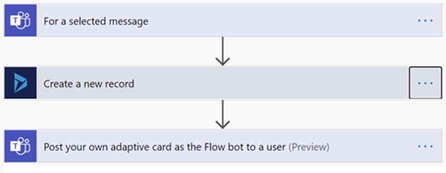 flow de power automate para crear una oportunidad de ventas