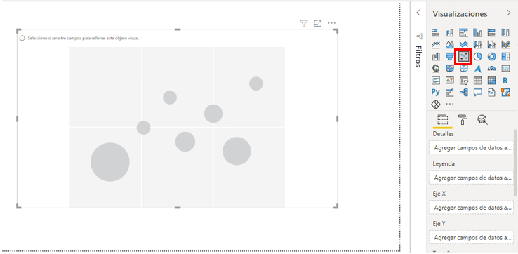 crear gráfico dispersión