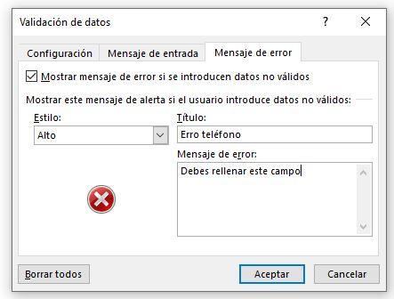 Validación de datos/Mensaje de error